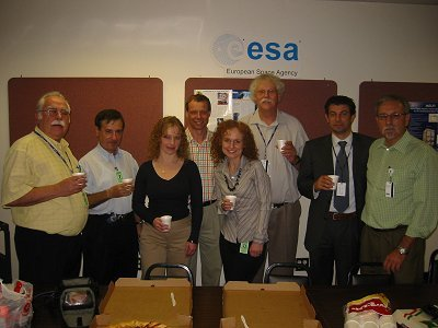 The local ESA office organised a little farewell lunch yesterday