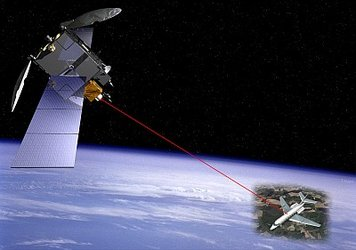 Artemis laser link to aircraft
