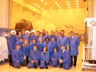 NASA Academy students
