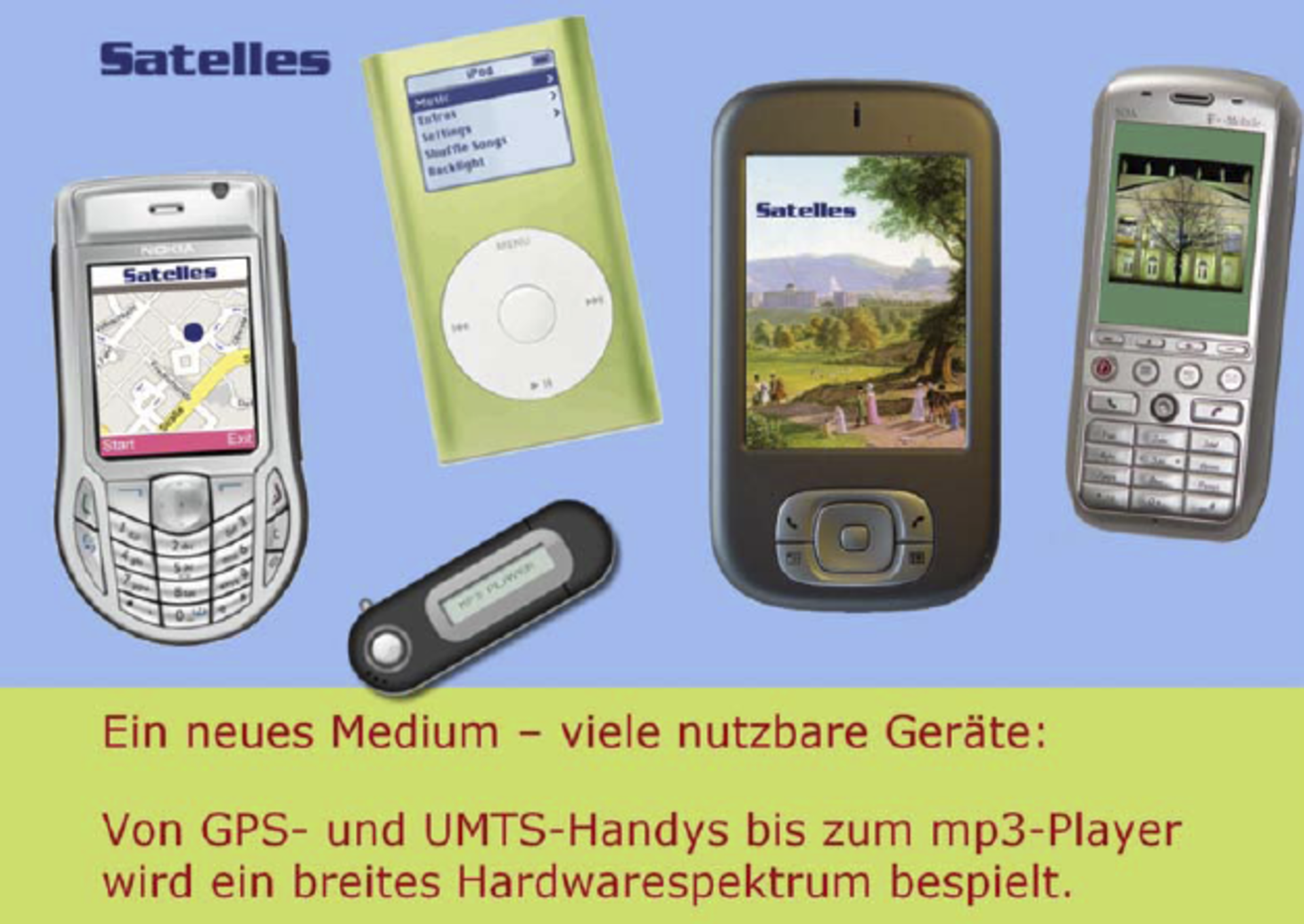 Satelles mobile travel guide