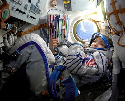 Anousheh Ansari travelled to ISS on board the Soyuz spacecraft