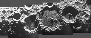 Plaskett and companion craters - AMIE mosaic