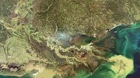 Envisat image of US Mississippi