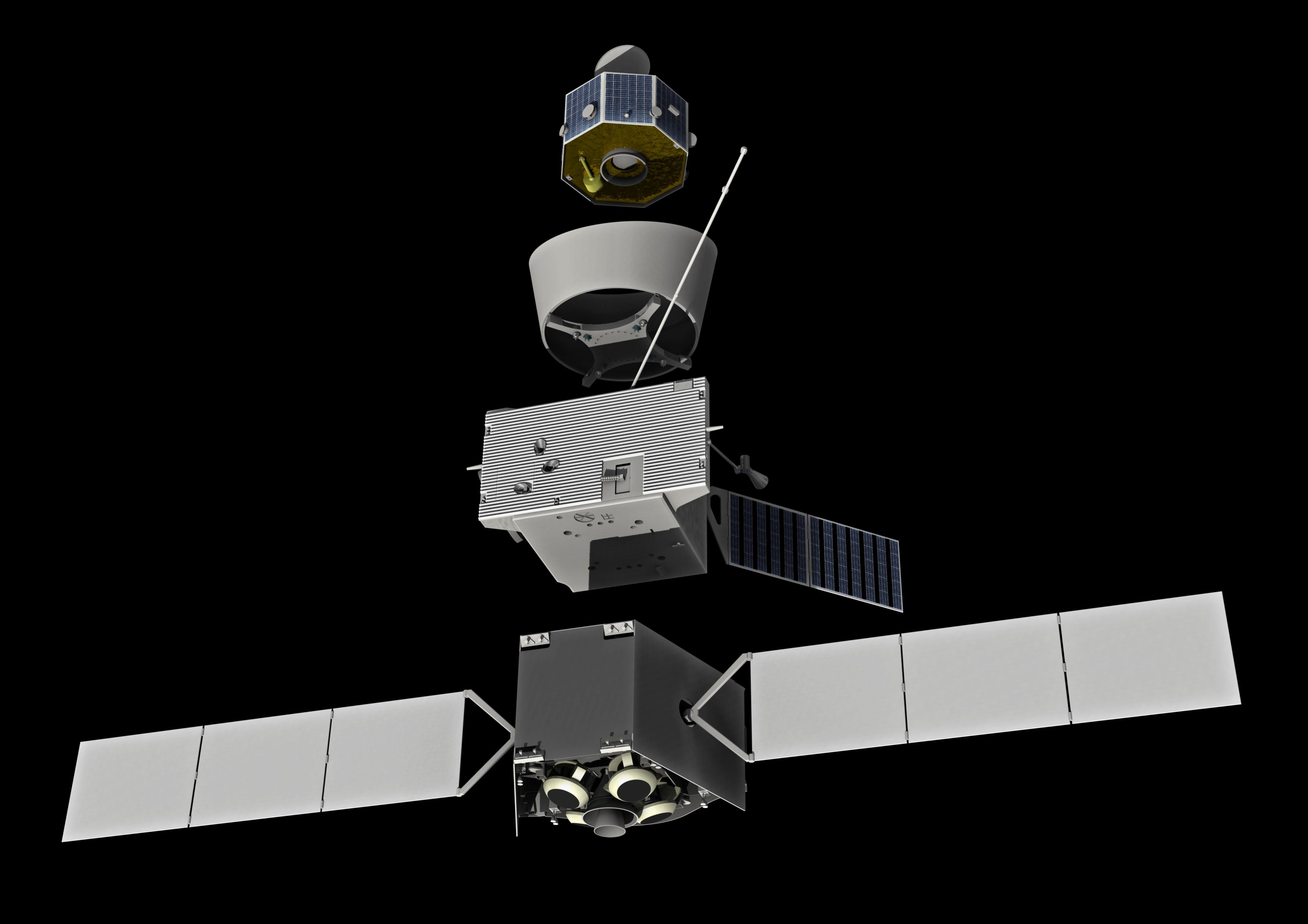 messenger spacecraft launch date - HD3508×2480