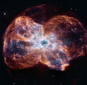 Hubble's view of planetary nebula NGC 2440