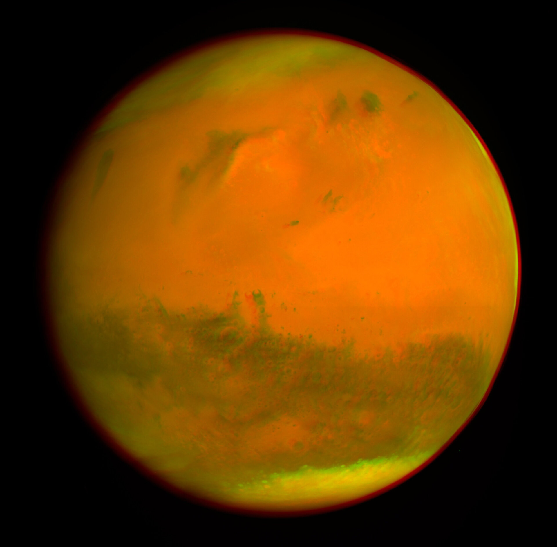 Mars 3D anaglyph (colour)