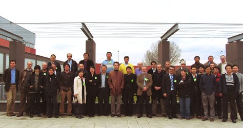 Participants at the Sino-European Workshop