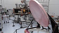 Planck satellite's mirrors