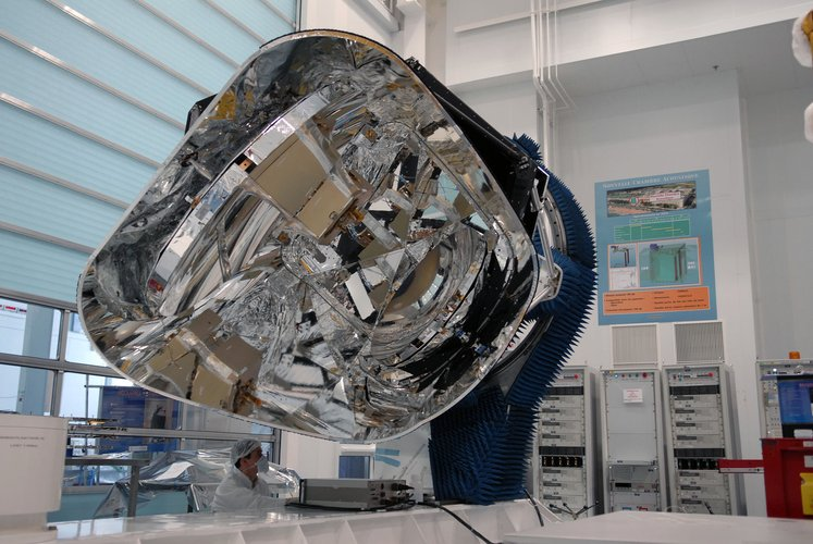 View of Planck satellite