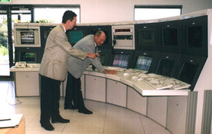 Control room in DSA 1