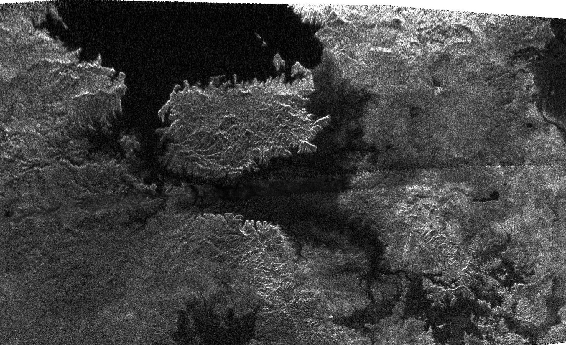 Larger and larger lakes on Titan