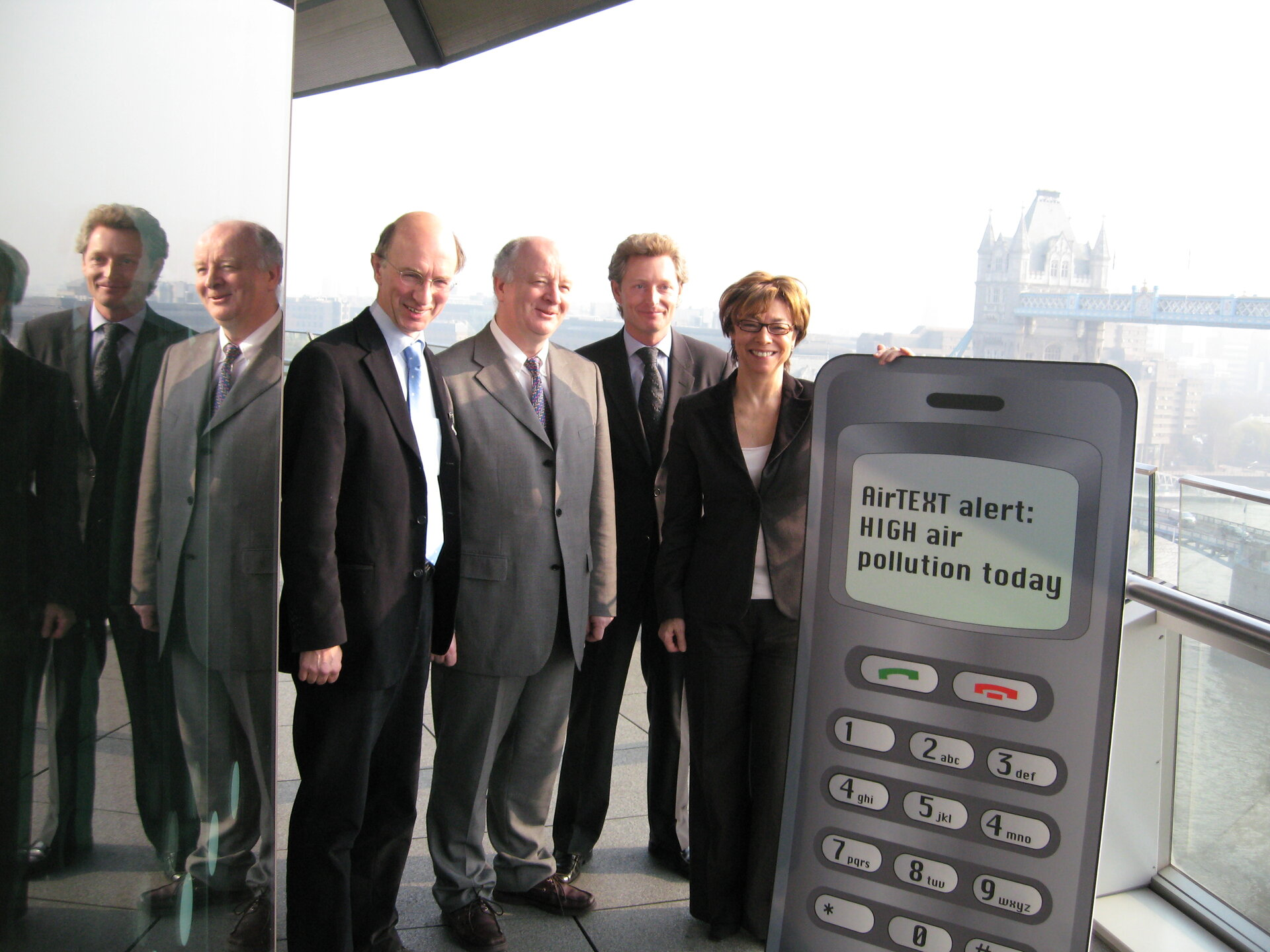 London's Deputy Mayor hosts airTEXT kickoff