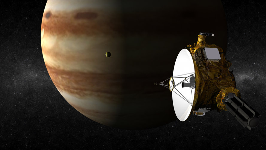 New Horizons flies by Jupiter