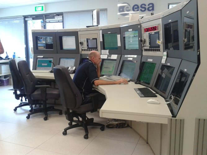 New Norcia station control room
