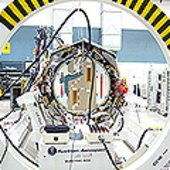 Profile of GOCE satellite flight model