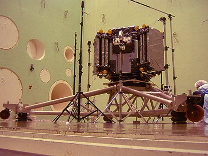 SMOS payload ready for acoustic testing