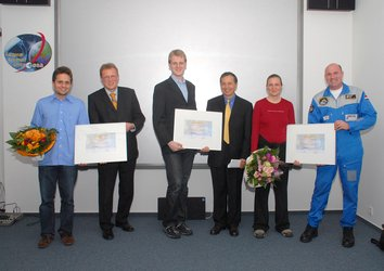 The SUCCESS winners were announced during a ceremony at the European Astronaut Centre, Cologne