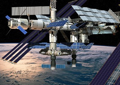 Artist's impression of ISS