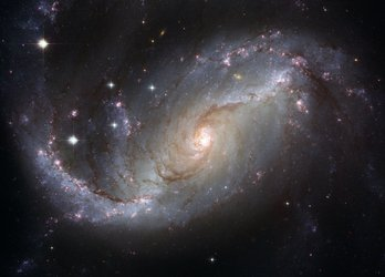 Barred spiral galaxy NGC 1672