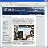 Screenshot: Learning EGNOS website