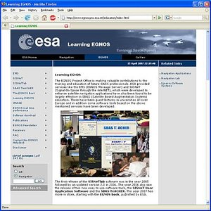 Learning EGNOS website