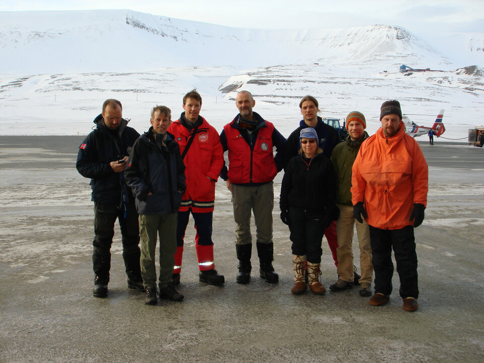 The ground measurements team