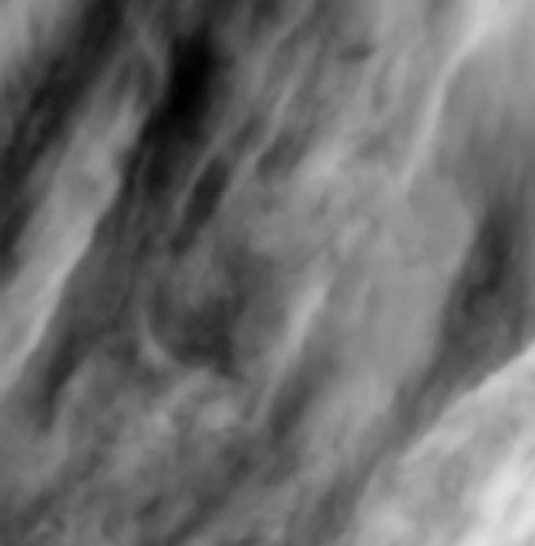 Turbulences in Venus's atmosphere