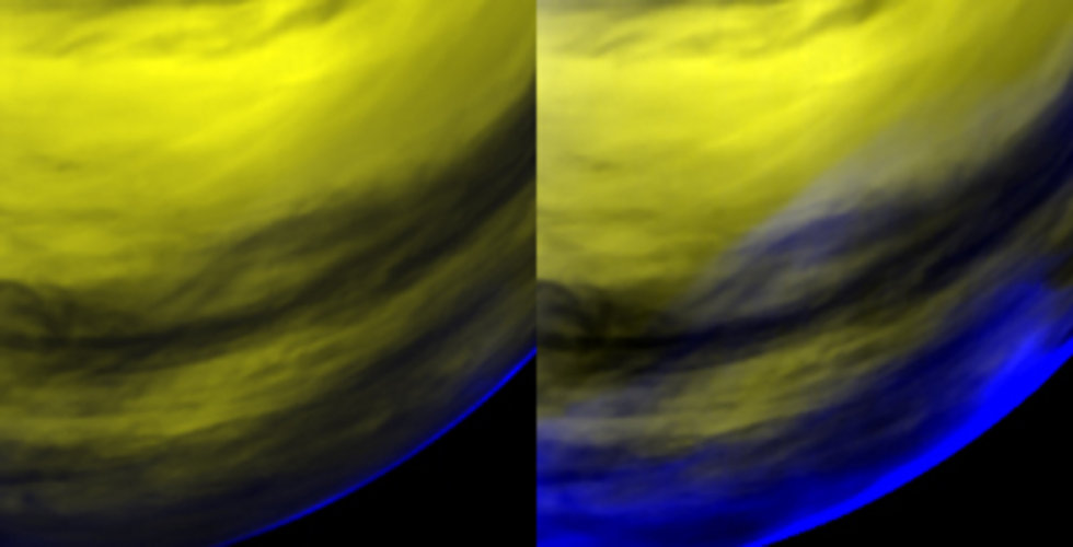 Zoom-in on Venus' oxygen airglow