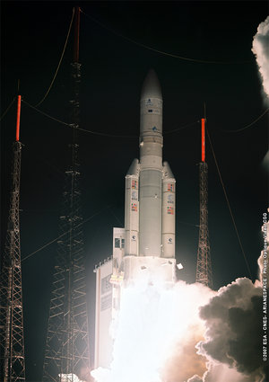 Ariane 5 ECA V176 lift-off