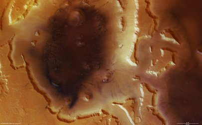 Deuteronilus Mensae region on Mars