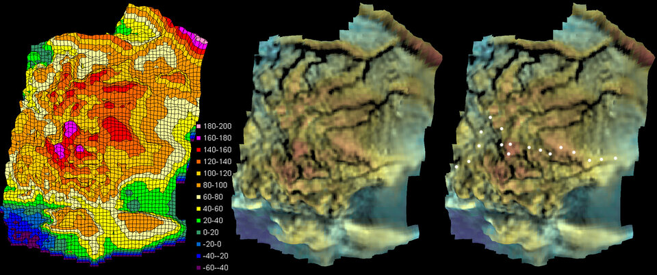 Digital terrain model – vertical views