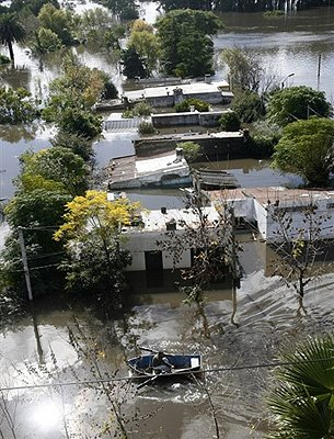 Flooding in Uruguay