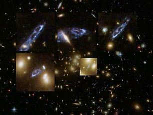 Gravitationaly lensed galaxies