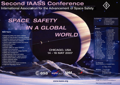 IAASS second conference: Space Safety in a Global World