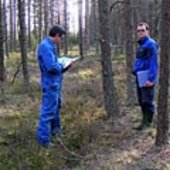 Recording forest characteristics