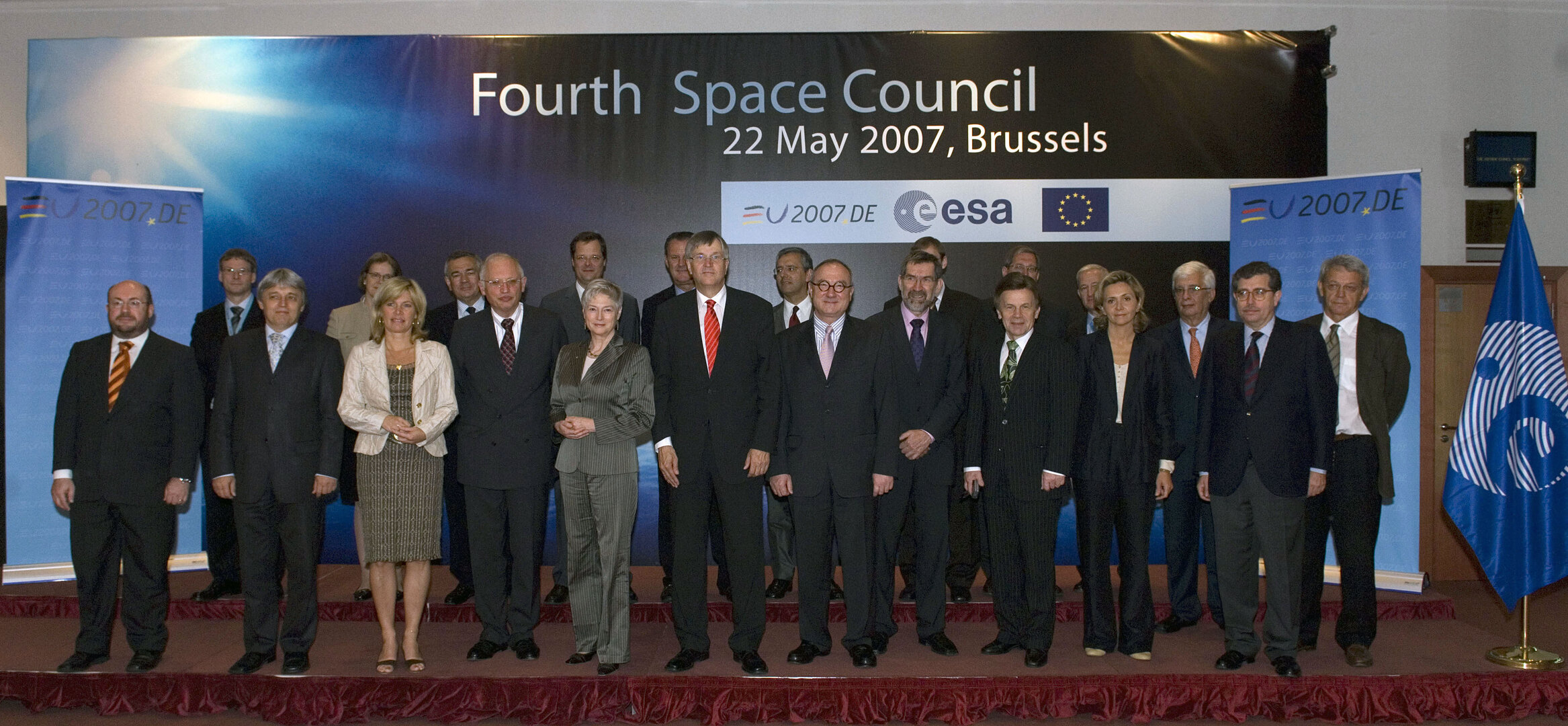 Space Council participants, May 2007