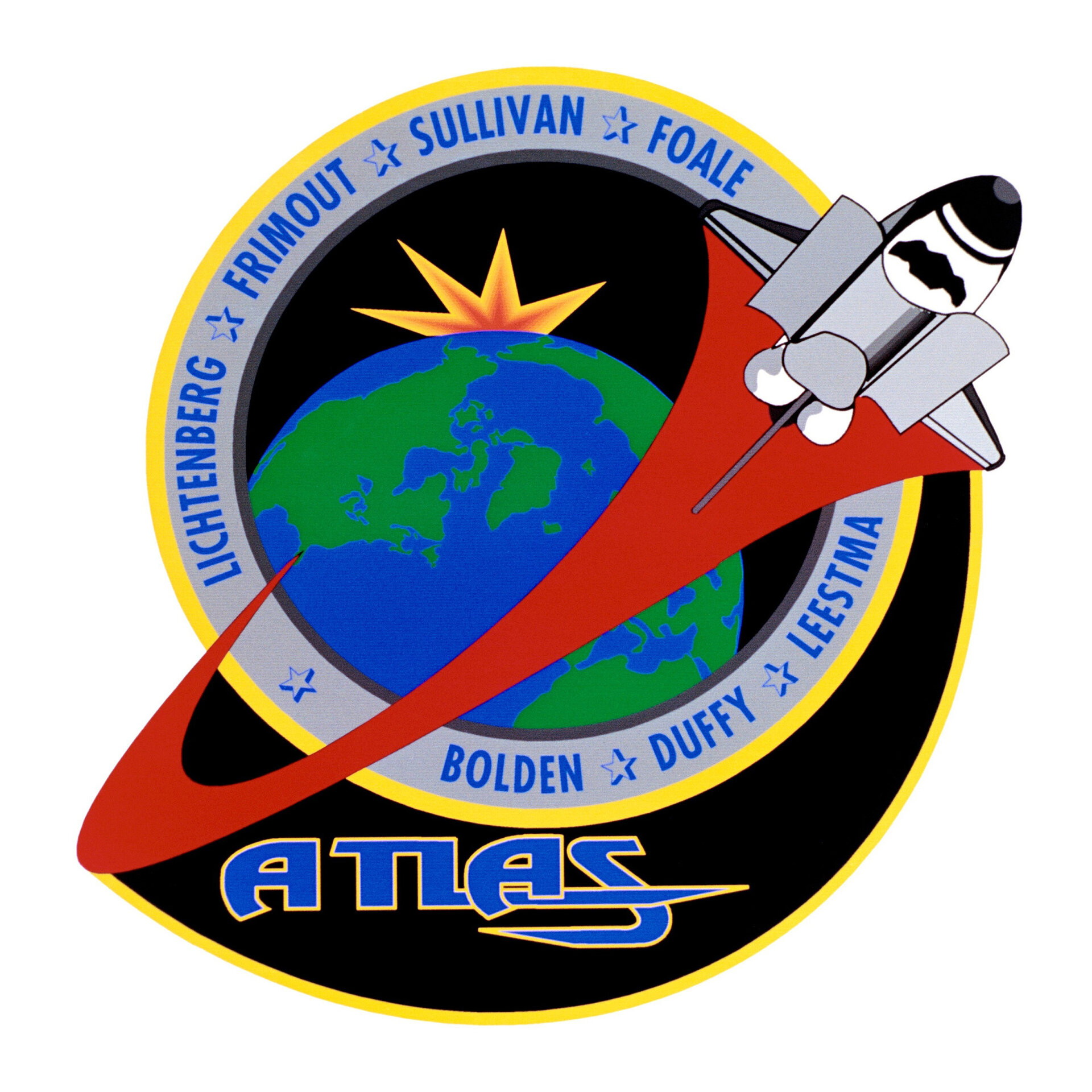 STS-45 patch, 1992