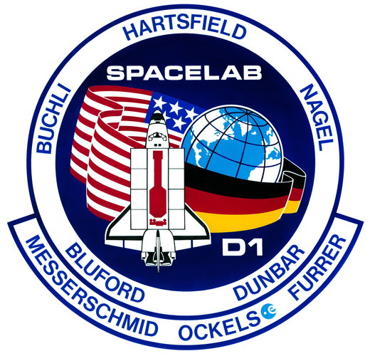 STS-61A patch, 1985