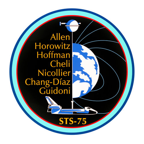 STS-75 patch, 1996