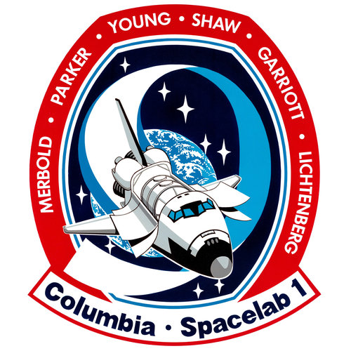 STS-9 patch, 1983
