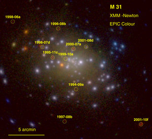 XMM-Newton image of M 31