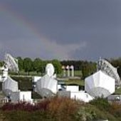 Antennas at ESA's Redu ground station