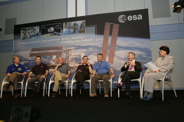 Astronauts discuss future space exploration