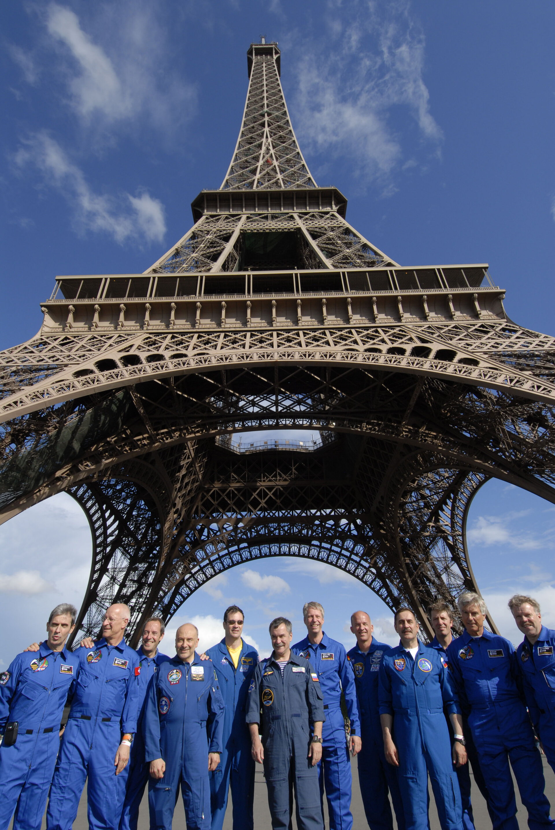 European astronaut corps together with Russian and American colleagues
