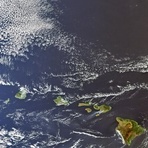 Hawaii as seen by Envisat