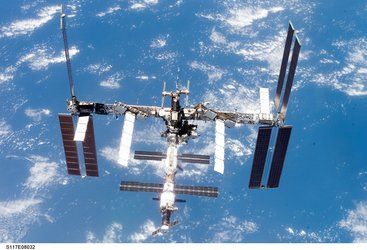 International Space Station configuration after Space Shuttle mission STS-117