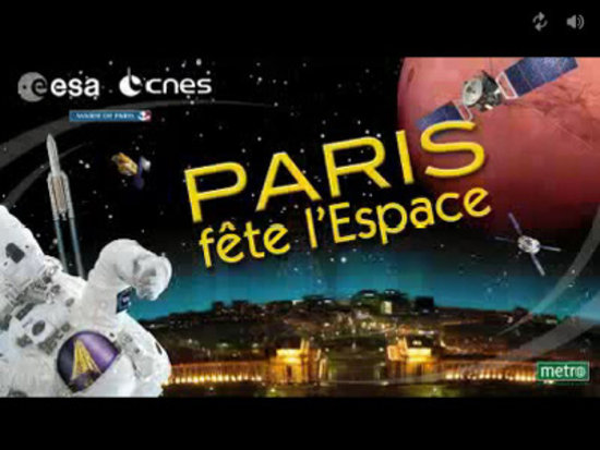 ESA Space Show, Paris-Trocadéro, 15 June 2007