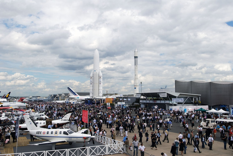 Outside view of ESA pavilion