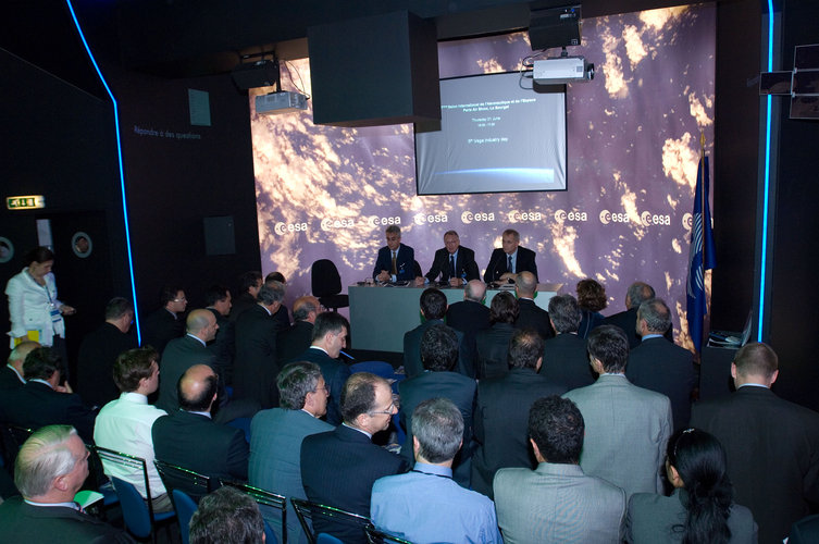 Presentation of the 5th Vega Industry Day
