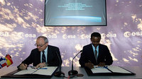 Signature of a cooperation agreement between ASECNA and ESA